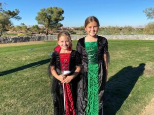 Halloween Fun, Competition Means Camaraderie