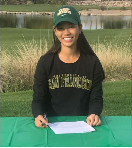 Riana Mission Commits to USF, Earns AJGA Scholastic Junior All-America