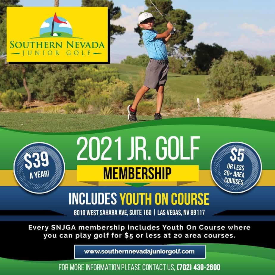 Southern Nevada Junior Golf Memberships